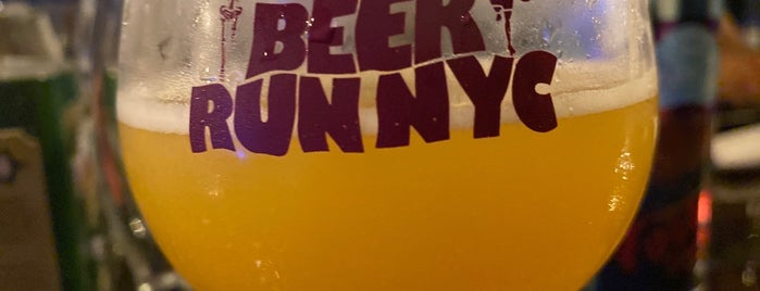Beer Run NYC is one of NYC Eat and Drink.