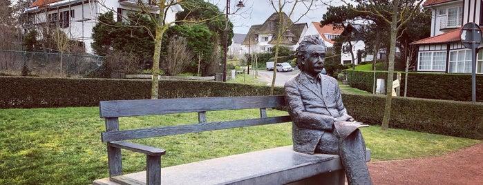 Standbeeld Albert Einstein is one of my de haan.