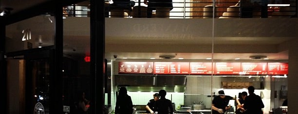 Chipotle Mexican Grill is one of testlist.