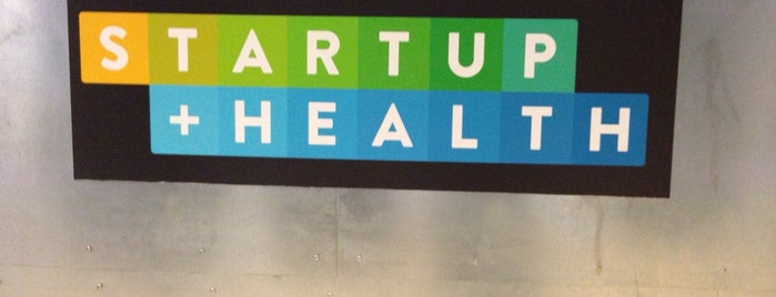 Startup Health is one of Silicon Alley, NYC (List #3).