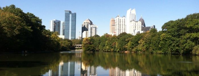 Piedmont Park is one of ATL.