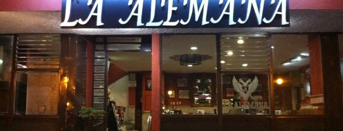 La Alemana is one of Cantinas GDL.