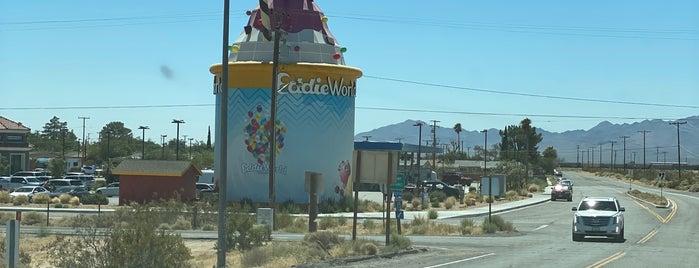 Eddie World is one of Vegas to LA.