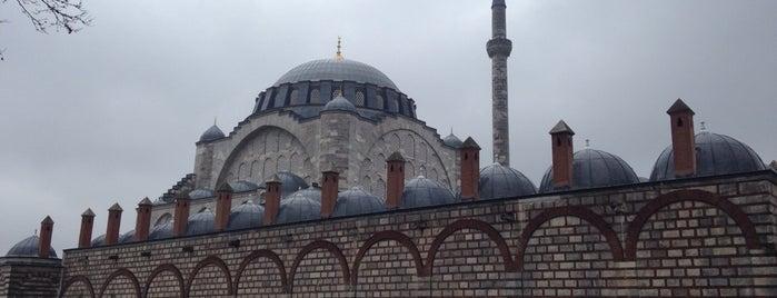 Edirnekapı Mihrimah Sultan Camii is one of İstanbul'daki Mimar Sinan Eserleri.