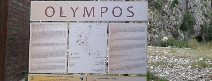 Olympos Antik Kenti is one of Olimpos-Çıralı / Karma Öneri.