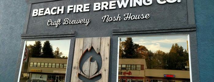 Beach Fire Brewing & Nosh House is one of Posti che sono piaciuti a Stephanie.