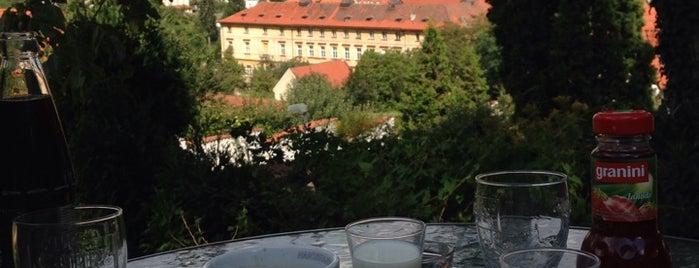 Garden Café Taussig is one of To-Do in Prague I.
