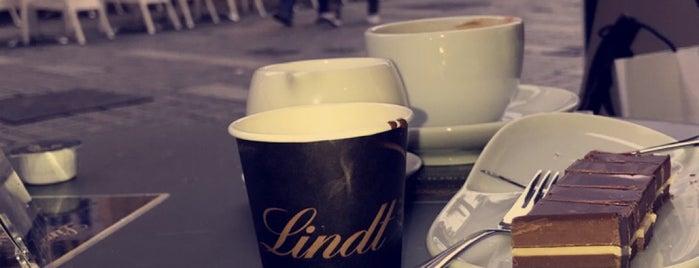 Lindt is one of Düsseldorf Best: Coffee & desserts.