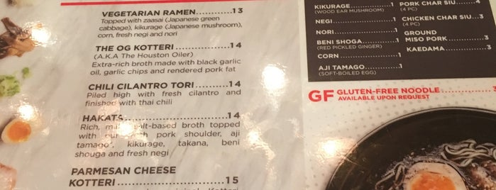 Agu Ramen is one of Lieux qui ont plu à Mike.