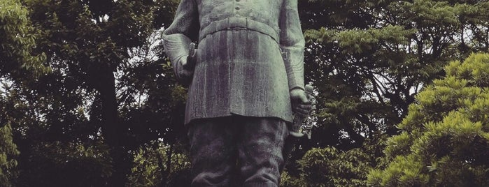Saigo Takamori Statue is one of 鹿児島探検隊.