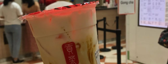 Gong Cha 贡茶 is one of Locais curtidos por Ian.