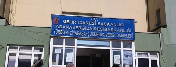 Yüreğir Vergi Dairesi is one of Posti che sono piaciuti a hibo-ç.