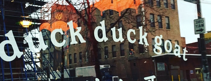 Duck Duck Goat is one of Chicago to-do.