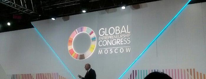 Всемирный конгресс предпринимателей 2014 (GEC 2014) is one of สถานที่ที่ Ola ถูกใจ.