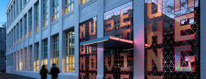 Museum of the Moving Image is one of Culture club.
