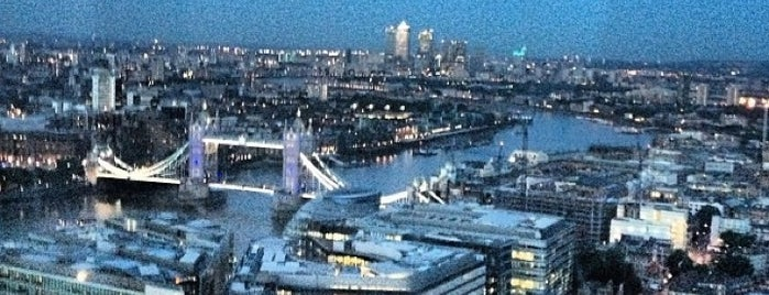 Oblix at The Shard is one of New London Openings 2013.