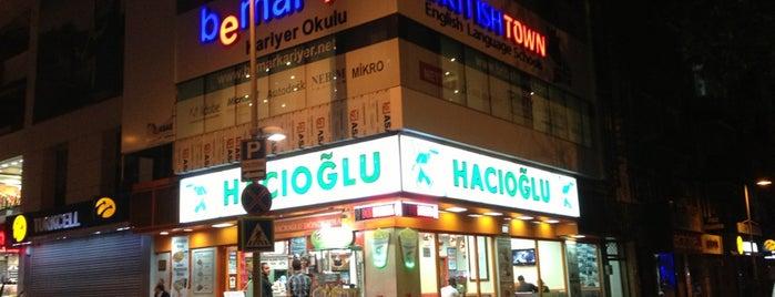 Hacıoğlu is one of Orte, die Ahmet gefallen.