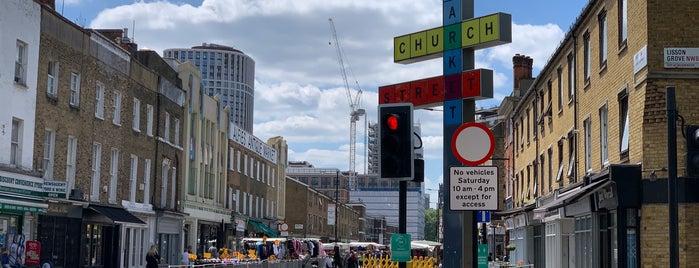 Church Street Market is one of London Markets.