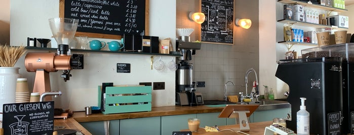 Amoret Speciality Coffee is one of LDN - Brunch/coffee/ breakfast.