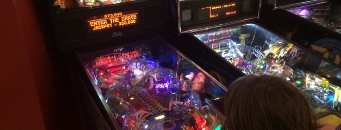 Modern Pinball NYC is one of Things For Kids To Do In NYC.