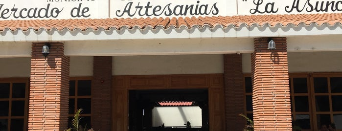 Mercado de artesanias is one of Lieux sauvegardés par Armando.