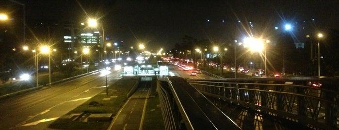 TransMilenio: El Tiempo - Maloka is one of Santiago : понравившиеся места.
