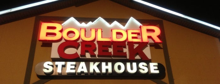 Boulder Creek Steakhouse is one of gluten free to try.