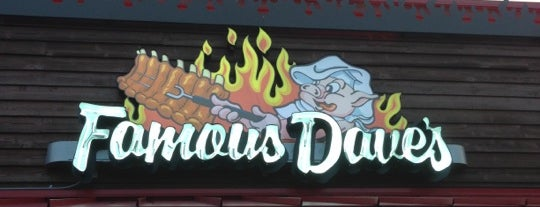 Famous Dave's is one of Restaurant recommendations.