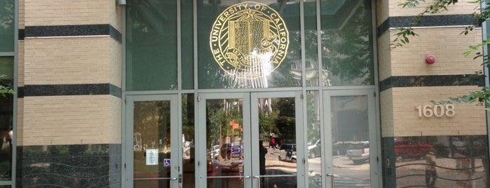 University of California Washington Center (UCDC) is one of Locais salvos de Amanda.