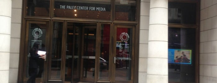 The Paley Center for Media is one of Guide to New York's best spots.