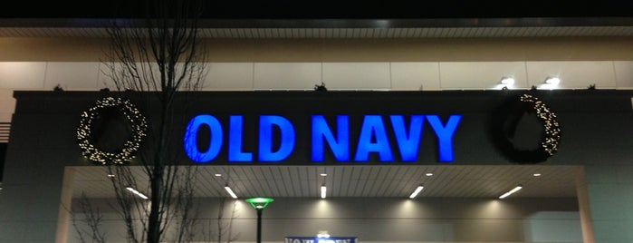 Old Navy is one of Locais salvos de JRA.