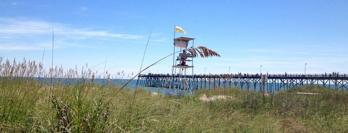 Kure Beach Ocean Front Park is one of CBS Sunday Morning 3.