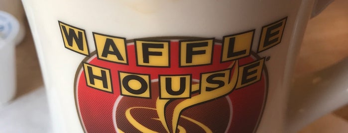 Waffle House is one of Carmen 님이 좋아한 장소.