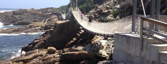Stormsriver Mouth Suspension Bridge is one of Freizeitaktivitäten.