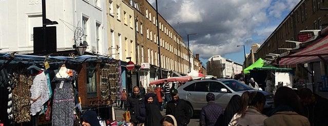 Church Street Market is one of London Markets & Food Stalls.