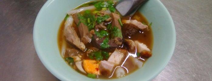 ก๋วยจั๊บน้ำข้น เยาวราช เจ้าเก่า is one of BKK_Noodle House_1.