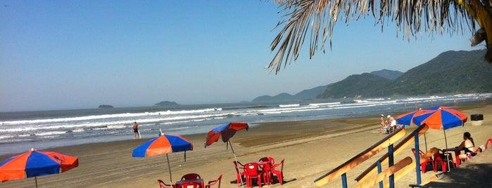 Quiosque Pé na Areia 17 is one of Evandro: сохраненные места.