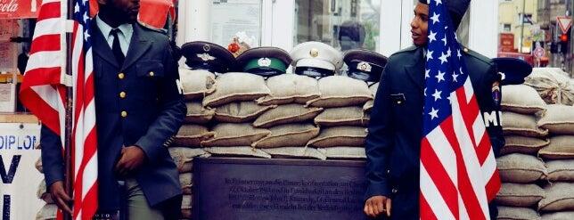 Checkpoint Charlie is one of Ich bin ein Berliner.