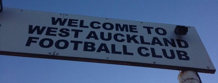 West Auckland FC is one of Lugares favoritos de Carl.