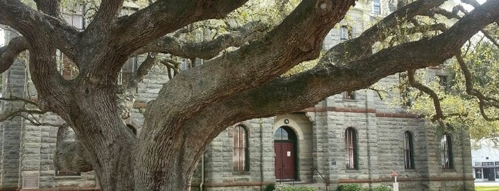 The Hanging Tree @ Goliad Courthouse is one of Goliad, TX.