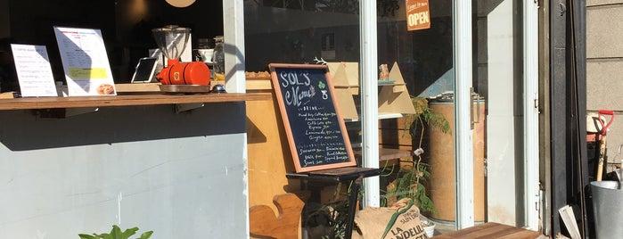 SOL'S Coffee Roastery is one of y.hori : понравившиеся места.