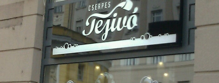 Cserpes Tejivó is one of Where to eat? (tried and recommended places).