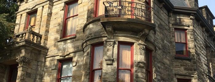 Tiedemann House (aka Franklin Castle) is one of Joel 님이 저장한 장소.