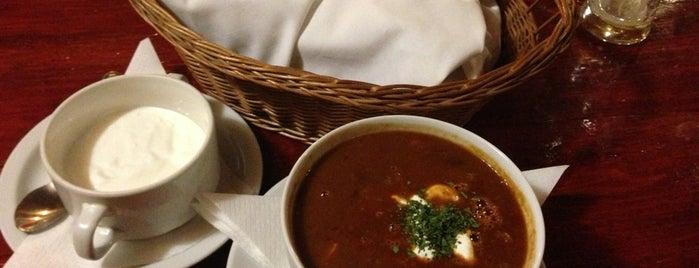 Szlovák Étterem és Söröző is one of Food.