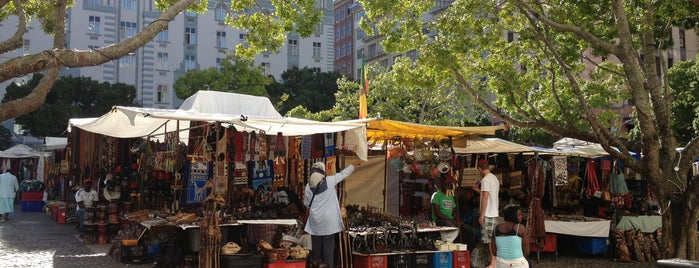 Greenmarket Square is one of Cape Town.