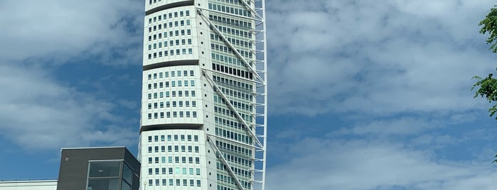 Turning Torso (B) is one of Malmö.