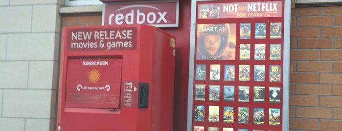 Redbox is one of Lieux sauvegardés par Jonathan.