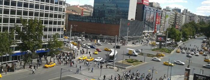 Kızılay Meydanı is one of themaraton.
