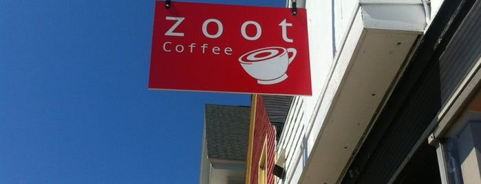 Zoot Coffee is one of Lugares favoritos de Rachel.