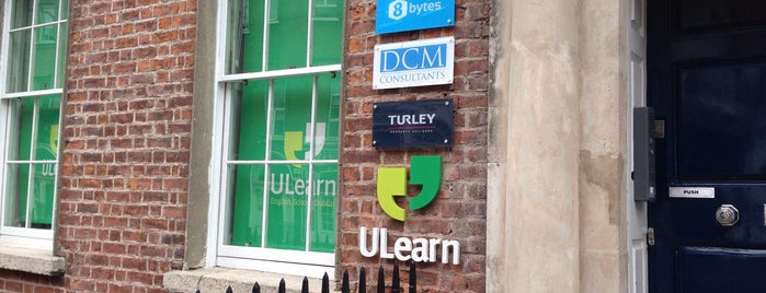 ULearn English School Dublin is one of Tempat yang Disukai Federico.